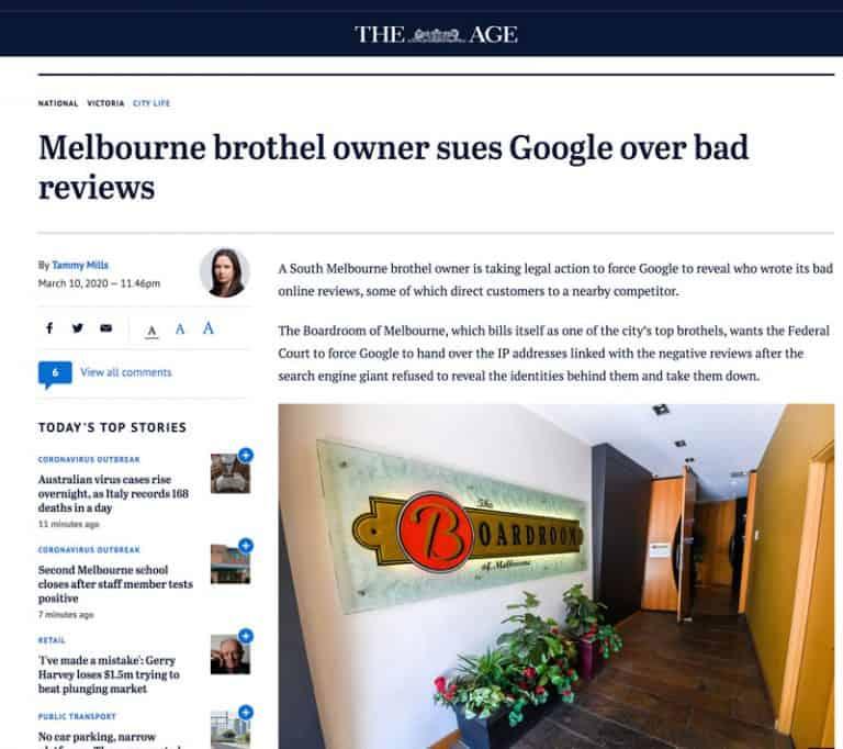 Boardroom v's Google