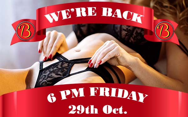 Reopening 29th Oct